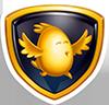 Guld emblem