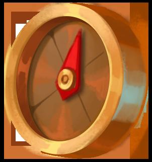 Bronze kompas