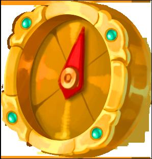 Guld kompas