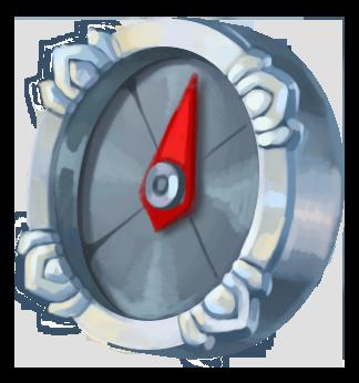 Sølv kompas