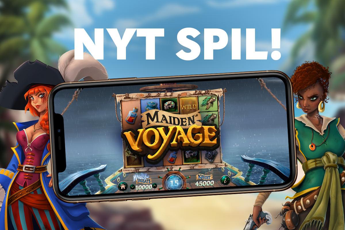 Nyt spil: Maiden Voyage!