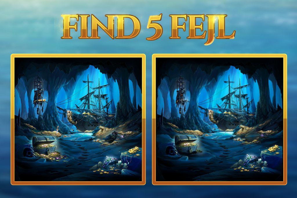 Find 5 fejl 🧐