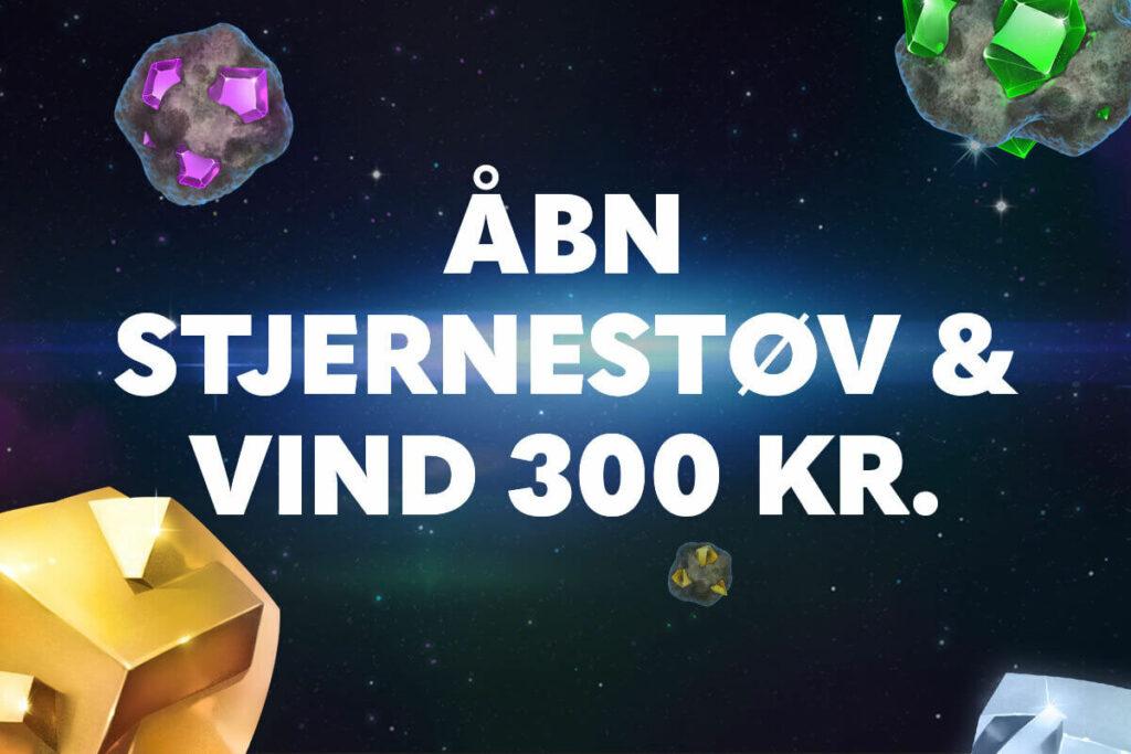 Åbn Stjernestøv og vind 300 kr. ✨ 🚀