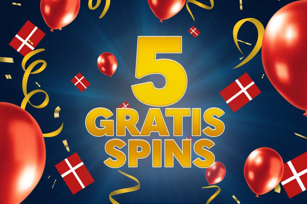5 gratis fødselsdags-spins 🇩🇰