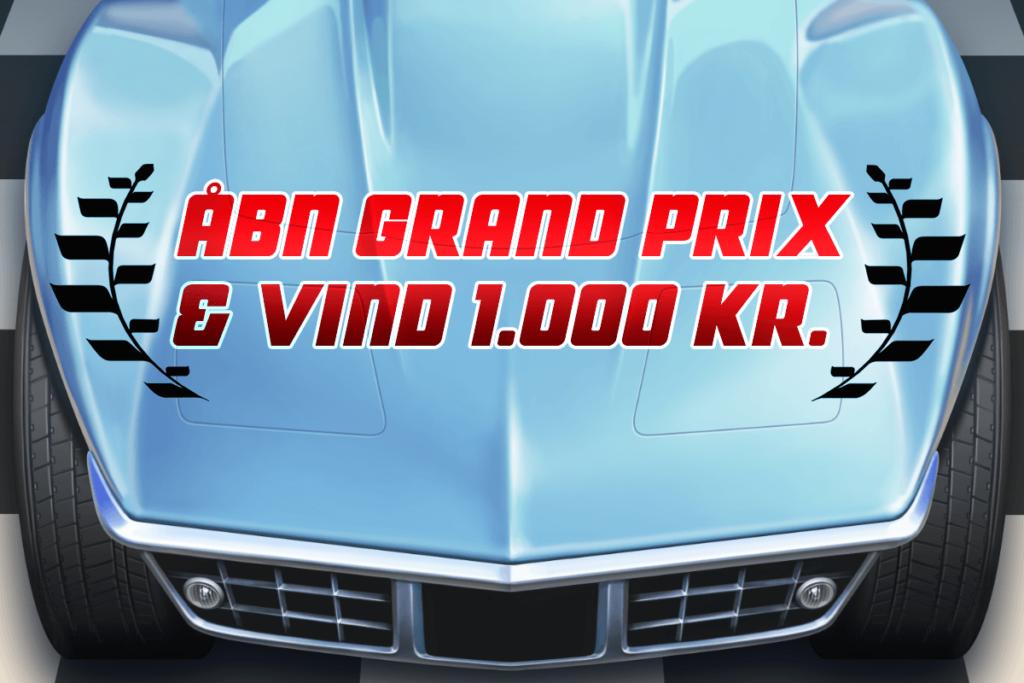 Åbn Grand Prix og vind 1.000 kr.